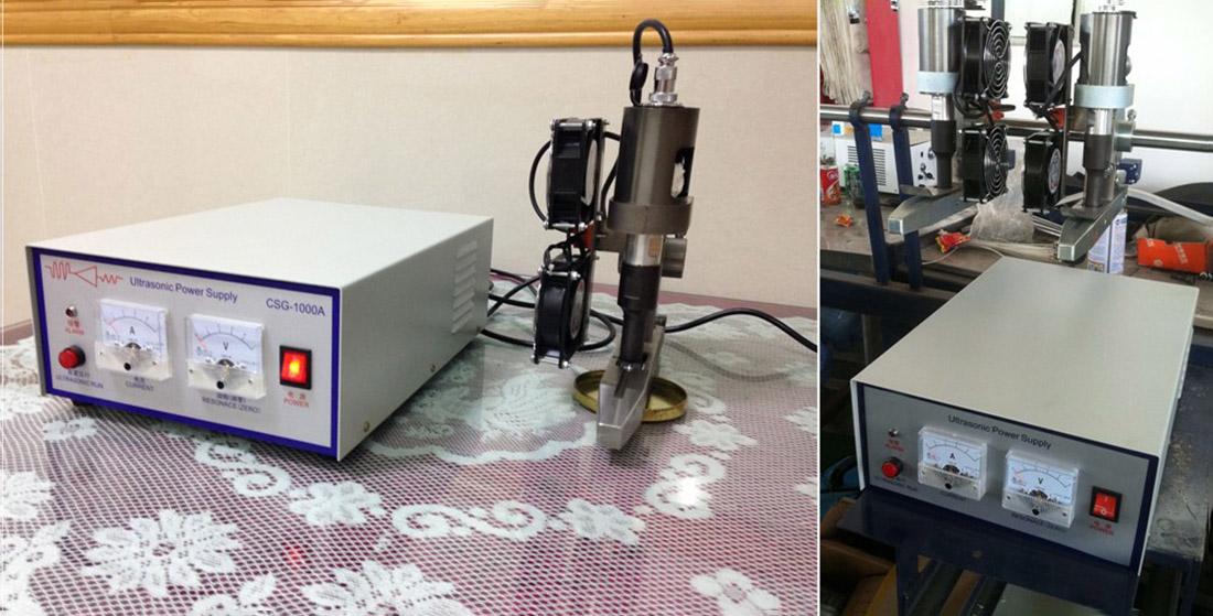 Ultrasonic Cutting Sealing Machine used on Circular Loom